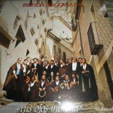 Discos de vinilo: RONDA SEGOVIANA - TUS OJOS MORENA LP - ORIGINAL ESPAÑA - MOVIEPLAY RECORDS 1980 MUY NUEVO(5) ENCARTE. Lote 88505256