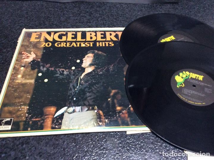 ENGELBERT HUMPERDINCK , 20 GREATEST HITS - LONDON , 1977 THE DECCA RECORD ( DOS VINILOS ) (Música - Discos - LP Vinilo - Pop - Rock - Internacional de los 70)