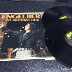 Discos de vinilo: ENGELBERT HUMPERDINCK , 20 GREATEST HITS - LONDON , 1977 THE DECCA RECORD ( DOS VINILOS ). Lote 46225061