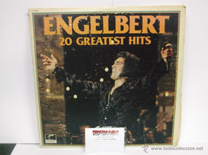 Discos de vinilo: ENGELBERT HUMPERDINCK , 20 GREATEST HITS - LONDON , 1977 THE DECCA RECORD ( DOS VINILOS ) - Foto 2 - 46225061