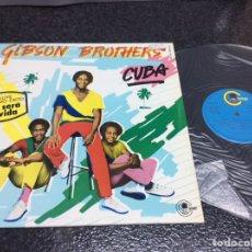 Discos de vinilo: VINILO LP -GIBSON BROTHERS - CUBA - AÑO 1979. Lote 88590344