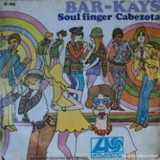 Discos de vinilo: BAR-KAYS - SOUL FINGER - EDICIÓN DE 1967 DE ESPAÑA. Lote 88591008