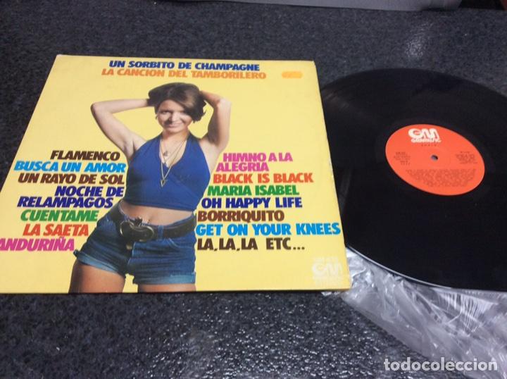 VINILO LP -EXITOS , UN SORBITO DE CHMPAGNE , LA CANCION DEL TAMBORILERO........ LP (Música - Discos - LP Vinilo - Grupos Españoles 50 y 60)