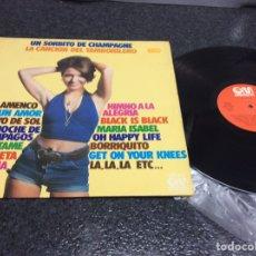 Discos de vinilo: VINILO LP -EXITOS , UN SORBITO DE CHMPAGNE , LA CANCION DEL TAMBORILERO........ LP. Lote 88608516