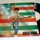 Discos de vinilo: MAX-HIM ?– LADY FANTASY 1985 LP. Lote 88645944