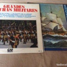 Discos de vinilo: LOTE DE 8 LPS DE MARCHAS MILITARES Y SEMANA SANTA.. Lote 88749240