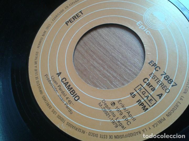 Discos de vinilo: Lote maxis PERET -- El rey de la Rumba -- 5 vinilos ( Todos diferentes ) + 4 carátulas - Foto 2 - 88769016