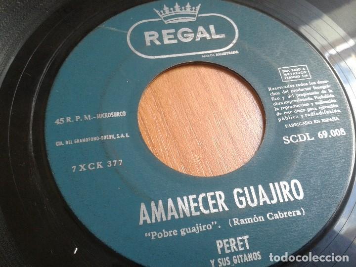 Discos de vinilo: Lote maxis PERET -- El rey de la Rumba -- 5 vinilos ( Todos diferentes ) + 4 carátulas - Foto 4 - 88769016