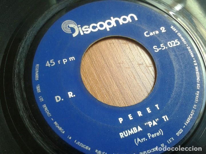 Discos de vinilo: Lote maxis PERET -- El rey de la Rumba -- 5 vinilos ( Todos diferentes ) + 4 carátulas - Foto 6 - 88769016