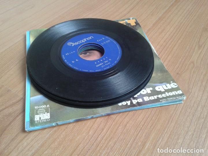 Discos de vinilo: Lote maxis PERET -- El rey de la Rumba -- 5 vinilos ( Todos diferentes ) + 4 carátulas - Foto 7 - 88769016
