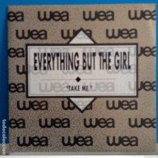 Discos de vinilo: EVERYTHING BUT THE GIRL - TAKE ME / TAKE ME - NUEVO PROMO ESPAÑOL. Lote 88787900