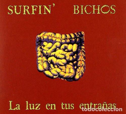 LP SURFIN BICHOS LA LUZ EN TUS ENTRAÑAS VINILO + CD (Música - Discos de Vinilo - EPs - Grupos Españoles de los 90 a la actualidad)