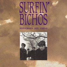 Discos de vinilo: LP SURFIN BICHOS FOTOGRAFO DEL CIELO VINILO + CD. Lote 88791356