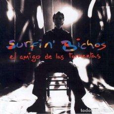 Discos de vinilo: LP SURFIN BICHOS EL AMIGO DE LAS TORMENTAS VINILO + CD. Lote 213076975