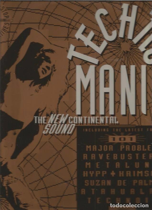 TECHNO MANIA (Música - Discos de Vinilo - Maxi Singles - Techno, Trance y House)