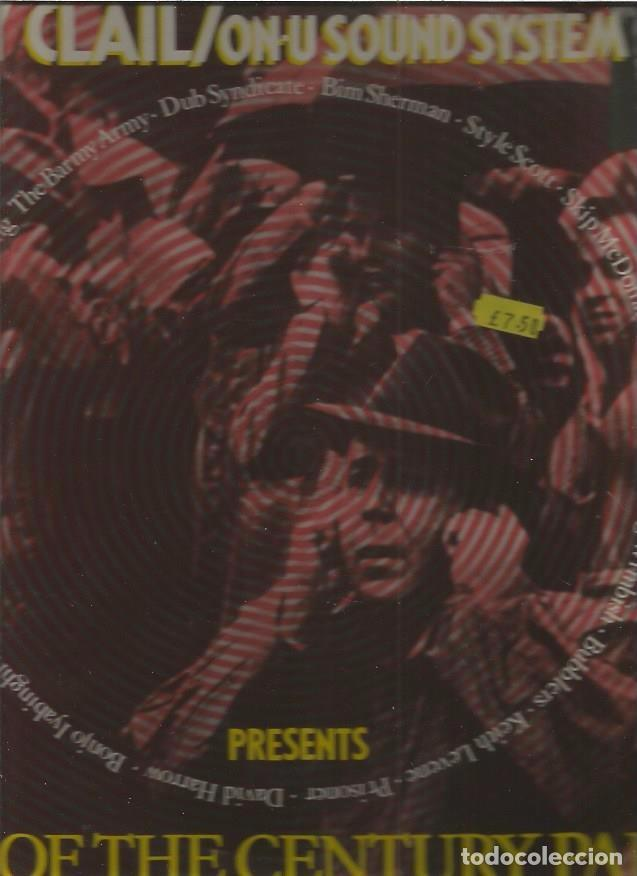 GARY CLAIL END CENTURY (Música - Discos de Vinilo - Maxi Singles - Techno, Trance y House)