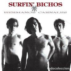 Discos de vinilo: 2LP SURFIN BICHOS HERMANOS CARNALES VINILO +2 CD . Lote 88793664