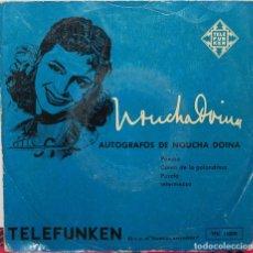 Discos de vinilo: EP - AUTOGRAFOS DE NOUCHA DOINA - POEMA +3 - TELEFUNKEN TFK 11009. Lote 88796496