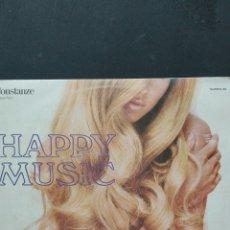 Discos de vinilo: HAPPY MUSIC. Lote 88797824