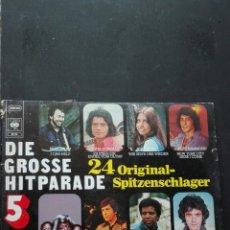 Discos de vinilo: DOS LPS DIE GROSSE HIT PARADE. Lote 88798232