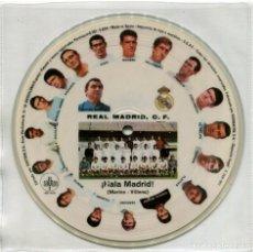 Discos de vinilo: ORQUESTA MARAVELLA DIRECTOR: LUIS FERRER ?– ¡HALA MADRID! - PICTURE DISC SPAIN 1972 - SAYTON ?. Lote 88799600
