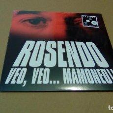 Discos de vinilo: ROSENDO - VEO, VEO... MAMONEO!! (LP + CD 2014, WARNER MUSIC SPAIN S.L. 2564617714) NUEVO. Lote 88800652