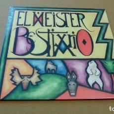 Discos de vinilo: EL MEISTER - BESTIARIO (LP 2015, SUBTERFUGE RECORDS 21017SUB) NUEVO. Lote 88801604