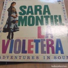 Discos de vinil: SARA MONTIEL .LA VIOLETERA -LP-USA . Lote 88805156