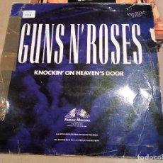 Discos de vinilo: C GUNS AND ROSES - KNOCKING ON HEAVENS DOORS - HEAVY METAL HARD ROCK. Lote 88807944