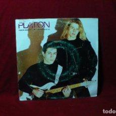 Discos de vinil: PLATON / PERDIENDO LA INOCENCIA / CBS, PROMOCIONAL, UNA CARA, 1993.. Lote 88823924