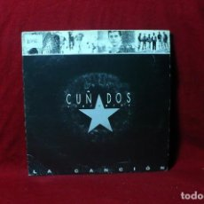 Discos de vinilo: CUÑADOS VIOLENTOS / LA CANCION / SALSETA DISCOS, PROMOCIONAL, UNA CARA, 1991.. Lote 88828276