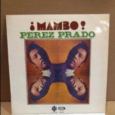 Discos de vinilo: PEREZ PRADO. ¡ MAMBO ! LP / MOVIE PLAY-ORFEON - 1972 / MBC. ***/***. Lote 88830104