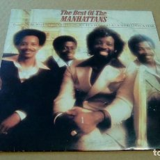 Discos de vinilo: MANHATTANS - THE BEST OF THE MANHATTANS (LP 1979, CBS 31806) . Lote 88833368