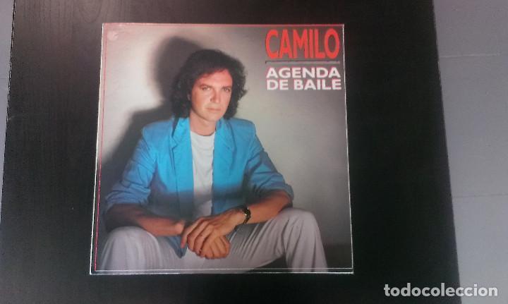 LP CAMILO SESTO AGENDA DE BAILE CANCIÓN MELÓDICA (Música - Discos - LP Vinilo - Solistas Españoles de los 70 a la actualidad)
