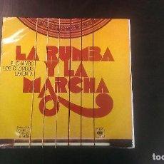 Discos de vinilo: LP LA RUMBA Y LA MARCHA CHANGO CHORBOS LAVENTA FLAMENCO GITANO. Lote 88834364