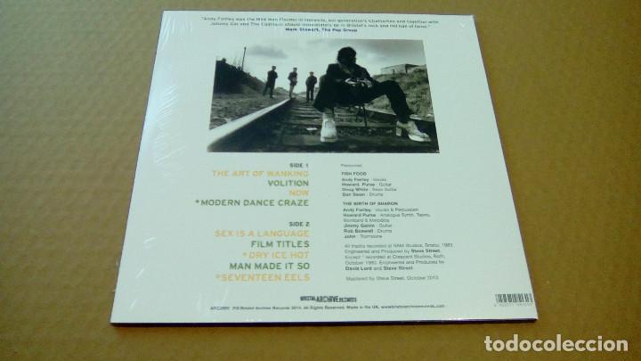 Discos de vinilo: ANDY FAIRLEY - Fishfood Vs.The Birth Of Sharon (LP 2014, Bristol Archive Records ARC269V ) NUEVO - Foto 2 - 88842888