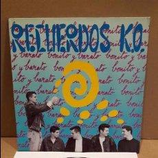 Discos de vinilo: RECUERDOS K.O. BONITO Y BARATO. LP / ESTACION RECORDS - 1991 / MBC. ***/***. Lote 88857436