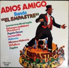 Banda El Empastre - Adios Amigo - 1978 - Olimpo - L-639 - Vinilo