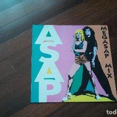 Discos de vinilo: ASAP-MEGASAP MIX.MAXI. Lote 88862504