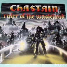 Discos de vinilo: LP CHASTAIN - RULER OF THE WASTELAND. Lote 57066145