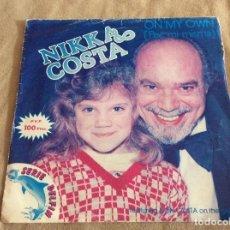 Discos de vinilo: NIKKA COSTA. ON MY OWN (POR MI MISMA); CHAINED TO THE BLUES. ARIOLA 1983.. Lote 88882476