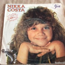 Discos de vinilo: NIKKA COSTA. YOU - SOMEONE TO WATCH OVER ME. ARIOLA 1982. Lote 88882652