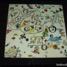 Discos de vinilo: LED ZEPPELIN LP III ORIGINAL ESPAÑOL HARD ROCK. Lote 123119907