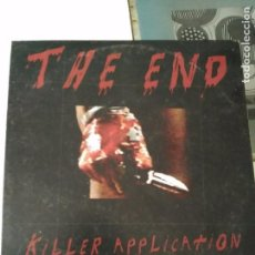 Discos de vinilo: THE ENE KILLER APPLICATION SINGLE EP MUY RARO. Lote 88886380