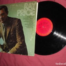 Discos de vinilo: RAY PRICE LP FOR THE GOOD TIMES ----LP COLUMBIA USA. Lote 88890500