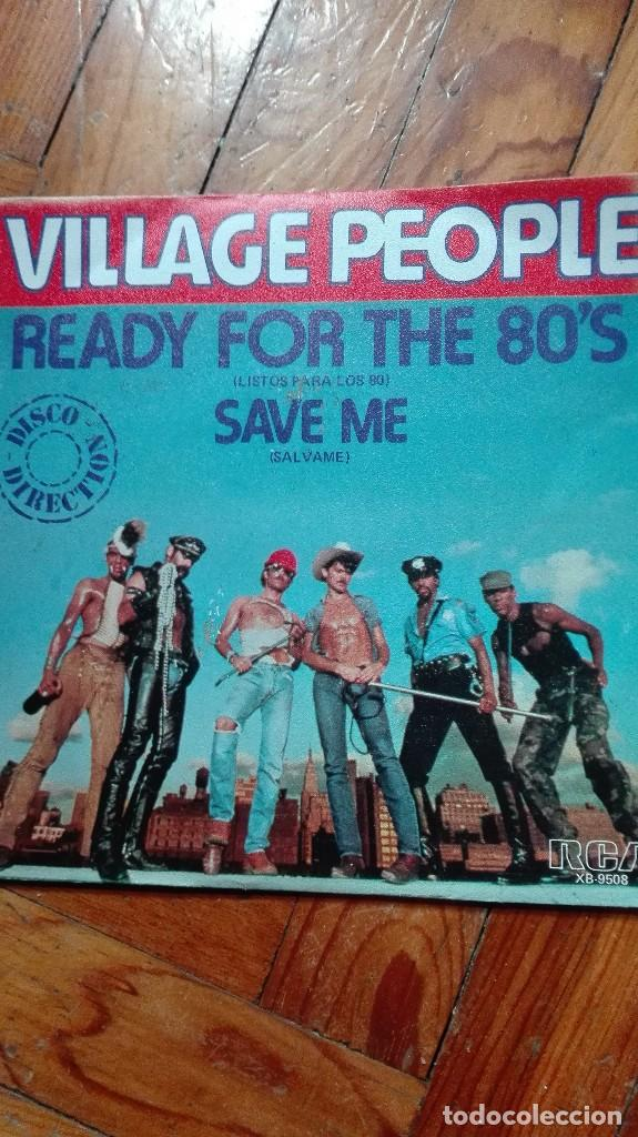 SINGLE VINILO VILLAGE PEOPLE (Música - Discos de Vinilo - Singles - Pop - Rock Extranjero de los 80)