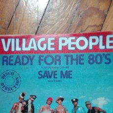 Discos de vinilo: SINGLE VINILO VILLAGE PEOPLE. Lote 88898340