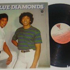 Discos de vinilo: LP - THE BLUE DIAMONDS - PROMOCIONAL - BLUE DIAMONDS. Lote 88922340