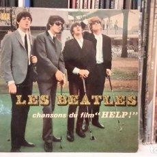 Discos de vinilo: BEATLES - CANCIONES DE LA PELÍCULA HELP. Lote 88922464