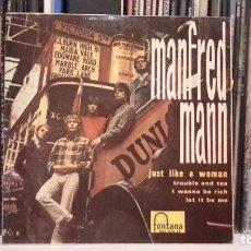 Discos de vinilo: MANFRED MAN - JUST LIKE A WOMAN. Lote 88922736